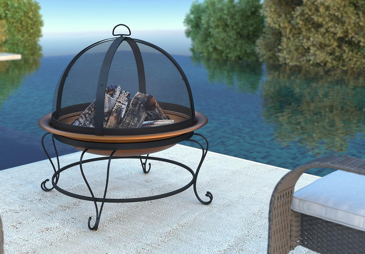 Product Promotion for Outdoor firepit.